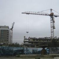 09.11.2007 Bakı, İnturist mehmanxanası sökülərkən, Баку