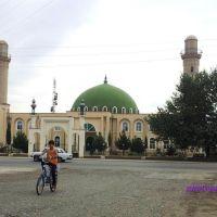 Mərkəzi Məscid - Nərimanov küçəsindən görünüş / Central Mosque (23.06.2011)  @qan, Бирмай