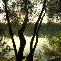 naplemente a Tiszán, Сольнок