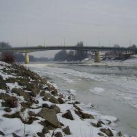 Híd a Tiszán, Szolnoknál, Сольнок