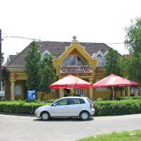 Kecskemet-Pizzeria in der Nyil Utca, Кечкемет