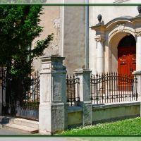 Kecskemét, református templom oldal bejárat, Кечкемет