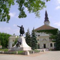 KECSKEMÉT - Kossuth Lajos szobra, Кечкемет
