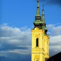 Mindszenti templom alkonyatkor, Мишкольц