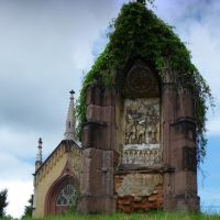 Kálvária domb .. egy stáció és a kápolna, Мишкольц