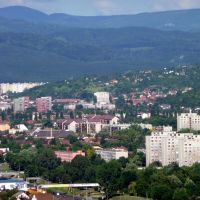 Miskolc-Diósgyőr Látkép az Avasi kilátóból, Мишкольц