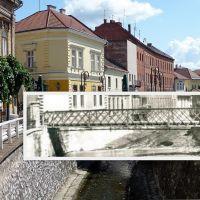 Kandia köz Szinva híd ... akkor és most, Мишкольц