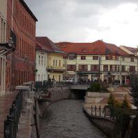 A  Szinva Miskolc belvárosában, Мишкольц