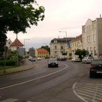 Main Street of Magyaróvár, 18.May,2008, Мошонмадьяровар