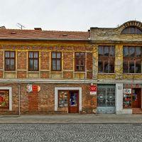 Mosonmagyaróvár, Magyar utca (panoráma 4 kép), Мошонмадьяровар
