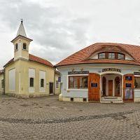 Mosonmagyaróvár, Templom utca (panoráma 12 kép), Мошонмадьяровар