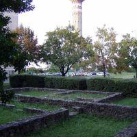 Római ikerház maradványok és a víztorony - Dunaújváros, Дунауйварош