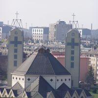 Katolikus templom, Дунауйварош