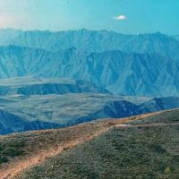 панорама гор, Вранг