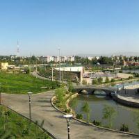 New park. Dushanbe, Tajikistan., Дангара