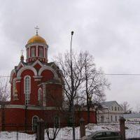 Ц. Благовещения Пресвятой Богородицы в Петровском парке, Лениградский