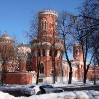 Петровский путевой дворец 1776-1796 годы...с дороги..., Лениградский