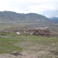 Traces of former construction of HPS (Near Rogun, Tajikistan), Советский
