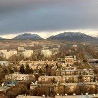 Birds-eye. Dushanbe, Tajikistan., Советский