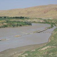 Kunduz-river near Ali-Abad, Пяндж