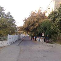 By-street between pedagogical college and #20 - Переулок между педучилищем и д.20, Худжанд