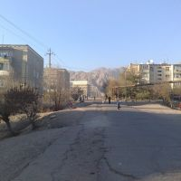 Residential houses and new Khujand State University building - Жилые дома и новый корпус ХГУ, Худжанд