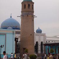 Minaret in Khujand, Худжанд