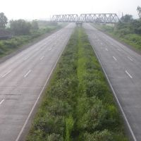 Express Highway through Chikle Village, Ашт