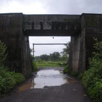 Railway Overbridge, Chikhle, Ашт