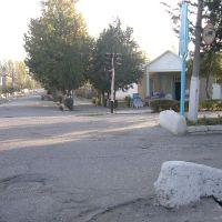 The main road outside Bobo Salomov  Firuz Agolikov, Ганчи