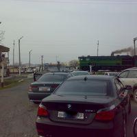 Railroad crossing - Железнодорожный переезд, Гафуров