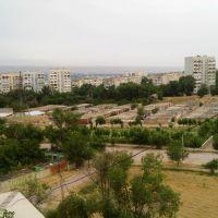 13th microdistrict, Khujand - Худжанд, 13 мкр., вид с поликлиники №5, Зафарабад