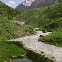 Источник Оби-шир, Зеравшан