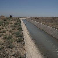 Канал потключени с дукер, Кайракуум