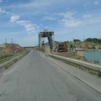 Мост через Сыр-Дарью, Нау