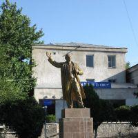 Lenin monument, Panjakent., Пенджикент