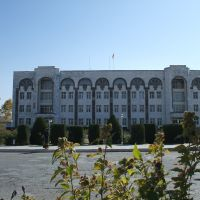 Penjikent local administration office, Пенджикент