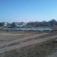 дно озера, далее квартал заозерный, Чкаловск