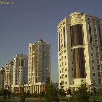 ©Elite houses on Sovjetskaya str., Ашхабад