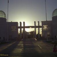 ©Disney main entrance and Leylashka, Ашхабад