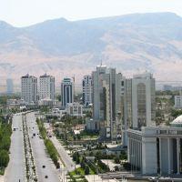 Ashgabat. Growing to Kopet-Dag mountains, Ашхабад