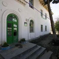 facade of a kindergarten building, Ашхабад