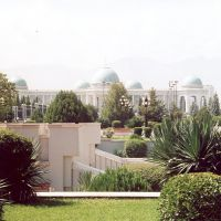 Palace from the president from Turkmenistan in Ashgabat, Ашхабад