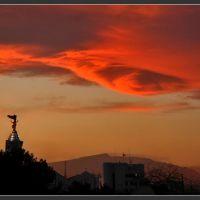 Зимнее небо, Ашхабад