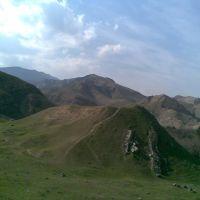Въезд в Фирюзинское ущелье(20 км. от г.Ашхабада), Безмеин