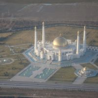 Not so far of Ashgabat, Turkmenistan., Безмеин