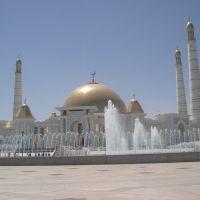 Turkmenistan Ashgabat new Mosque, Безмеин