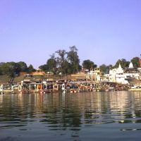 Vishram ghat at Yamuna River, Mathura, Дарваза
