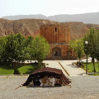 Kalat-e  Naderi - کلات - Nomadic tent and Sun Temple - کلات نادر - IRAN-2008, Душак