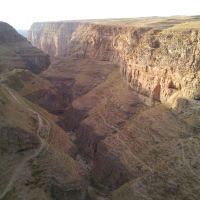 دره ای عمیق در  منطقه ی قله زو کلات, Душак